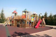 Lekplats utan barn Arkivbilder