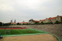 Lekplatsen av det Xiamen universitetet Royaltyfria Foton