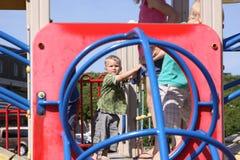 lekplatslitet barn Royaltyfri Bild