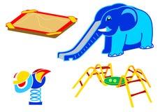 lekplatsset för utrustning 2 royaltyfri illustrationer