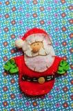 Leksak för jul för tygjultomtenman Royaltyfria Foton