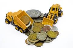Leksak för mynt för pengartillverkare Royaltyfria Foton