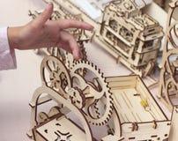 leksak för pussel 3d Fotografering för Bildbyråer