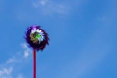 Leksak för vindturbin Royaltyfri Fotografi