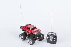 Leksakbil med radiofjärrkontroll Fotografering för Bildbyråer