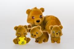 Leksakbjörnar Royaltyfri Bild