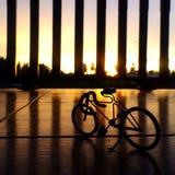 Leksakcykel Royaltyfri Fotografi