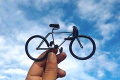 Leksakcykel Royaltyfri Foto