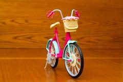 Leksakcykel Bekläda beskådar Royaltyfri Fotografi