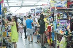 Leksakdiversehandel i Peking Royaltyfria Bilder