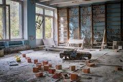 Leksaker av Tjernobyl royaltyfria bilder
