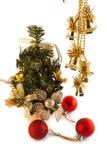 Leksaker för L gran-träd och nytt års Arkivbilder