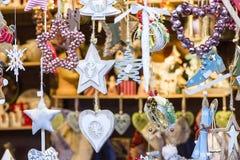 Leksaker för nytt år och jul Fotografering för Bildbyråer