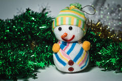 Leksaker för ` s för nytt år Royaltyfri Bild