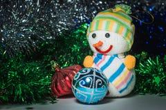 Leksaker för ` s för nytt år Royaltyfria Bilder