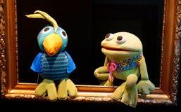 Leksaker för välfyllt djur Arkivfoto