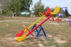 Leksaker på lekplatsen royaltyfri fotografi