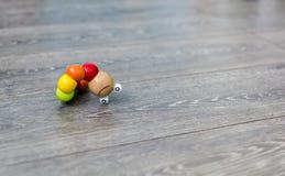 Leksaklarv på golvet royaltyfri fotografi