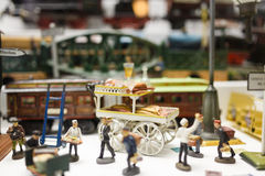 Leksakmuseum i Munich Arkivbild