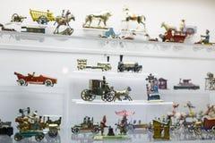 Leksakmuseum i Munich Arkivbilder