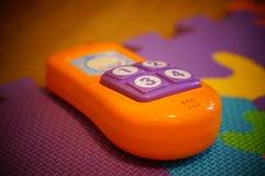 Leksaktelefon Fotografering för Bildbyråer