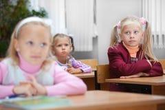 Lektion in der Volksschule. Stockfoto