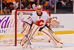 Leland Irving Calgary Flames Stock Images
