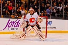 Leland Irving Calgary Flames Stock Photo
