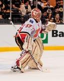 Leland Irving Calgary Flames fotografia stock libera da diritti
