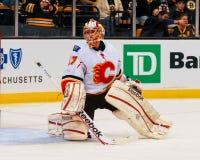 Leland Irving Calgary Flames fotografia stock
