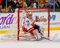 Leland Irving Calgary Flames fotografie stock