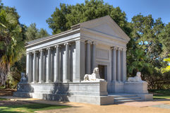 Leland Stanford Mausoleum at Stanford University Stock Image