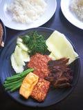 lelapan voedselnasi Stock Foto