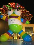 Lele, the Mascot for Youth Olympic Games. A statue of Lele, the mascot of the 2014 Youth Olympic Games, which take place in Nanjing, China, from Aug. 16-28 royalty free stock image
