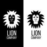 Lelegant狮子头商标设计 库存图片
