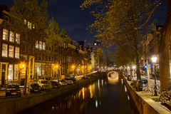 Leliegracht in Amsterdam Stock Photo