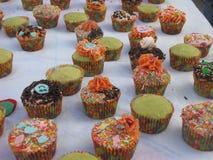 Lelijke cupcakes royalty-vrije stock foto