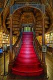 Lello Bookstore a Oporto, Portogallo fotografie stock