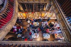 Lello bookstore in Porto city Stock Image
