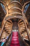 Lello bookstore in Porto city Royalty Free Stock Photos
