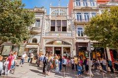 Lello Bookstore in Porto Royalty Free Stock Photos