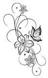 Leluje, kwiaty Fotografia Stock