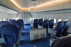 Retired ex KLM Jumbo jet royalty free stock image