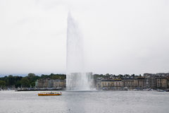 Lemański Wodny strumień Fotografia Royalty Free