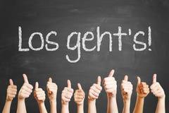 Lema alemán imágenes de archivo libres de regalías