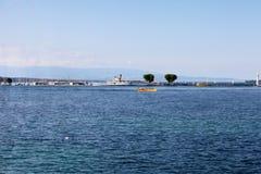 Lemański jezioro Obrazy Royalty Free