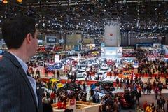 Lemański Motorowy przedstawienie 2015 Szwajcaria Fotografia Stock