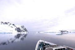 κανάλι της Ανταρκτικής lemaire Στοκ εικόνα με δικαίωμα ελεύθερης χρήσης