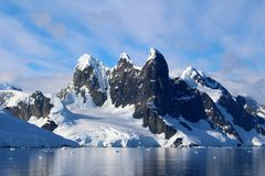 Lemaire Channel, Antarctic Peninsula, Antarctica royalty free stock photography