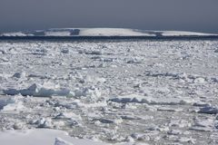 Lemaire channel, antarctica Stock Photo